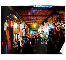 Marrakech Market Poster