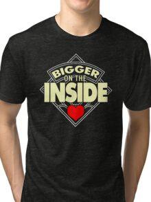 WHO has the Bigger Heart? Tri-blend T-Shirt