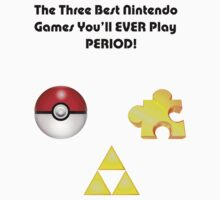 Nintendo's Best Three Games by BarneyStinson