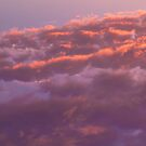 Colorful sky in the evening (orange, pink and purple clouds at sunset) by Olivier Sohn