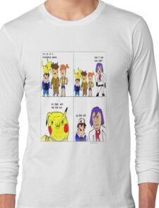 pokemon meme Long Sleeve T-Shirt