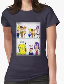 pokemon meme Womens Fitted T-Shirt