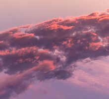 (II) Colorful sky in the evening  (orange, pink and purple clouds at sunset) by Olivier Sohn