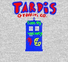 Who Vandalized the Tardis? Unisex T-Shirt
