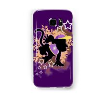 Super Smash Bros. Purple Diddy Kong Silhouette Samsung Galaxy Case/Skin
