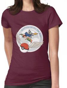 Gotta Catch 'Em All Womens Fitted T-Shirt