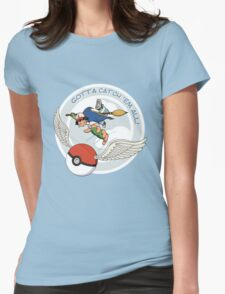 Gotta Catch 'Em All Womens Fitted T-Shirt