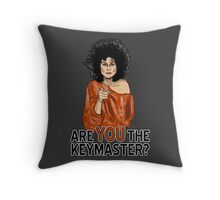 Are You the Keymaster? Throw Pillow