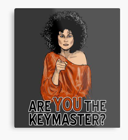 Are You the Keymaster? Metal Print