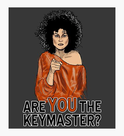 Are You the Keymaster? Photographic Print