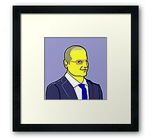 The Blacklist - James Spader Framed Print