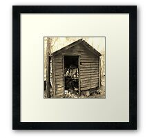 What Was Two Artistic Photograph by Shannon Sears Framed Print