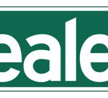 Beale St., Street Sign, Memphis, TN Sticker
