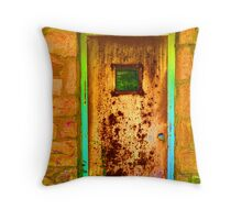 Decayed Pop Art #10 Throw Pillow