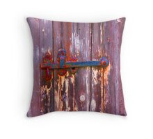 Decayed Pop Art #13 Throw Pillow
