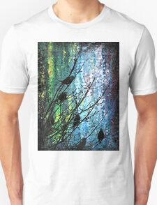 Birds of a Feather - Digital Graphic by Mark Compton T-Shirt