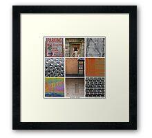 Urban Exploration Poster Framed Print
