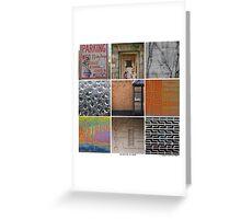 Urban Exploration Poster Greeting Card