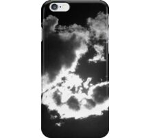 Clouds with sun iPhone Case/Skin