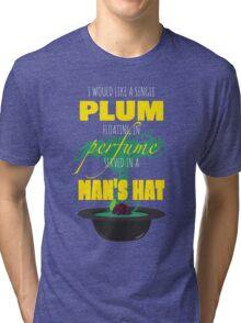 A Single Plum Tri-blend T-Shirt