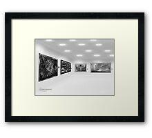 ©DA Walls Expo IA Monochromatic Framed Print