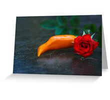 Spicy & Aromatic Still LIfe Greeting Card