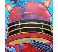 Retro Dalek - celebrating 50 years of Dr Who by debzandbex