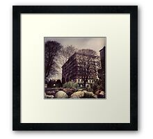 The Sylvia Hotel Framed Print