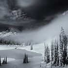 Winter Storm Clearing by DawsonImages