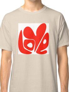 Love. Conceptual handwritten phrase Classic T-Shirt