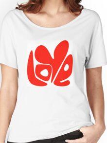 Love. Conceptual handwritten phrase Women's Relaxed Fit T-Shirt