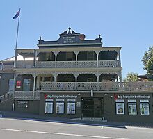Deloraine Hotel, Deloraine, Tasmania, Australia by Margaret  Hyde
