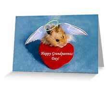 Grandparents Day Hamster Greeting Card