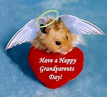 Have a Happy Grandparents Day Hamster by jkartlife