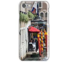 A Table By The Water, Please iPhone Case/Skin
