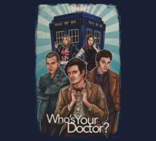Who's Your Doctor? One Piece - Short Sleeve