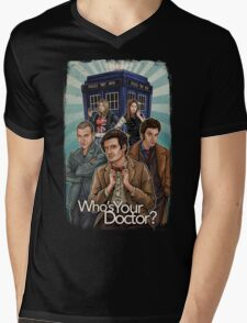Who's Your Doctor? Mens V-Neck T-Shirt
