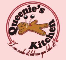 Queenie's Kitchen-red linedP by SholoRobo