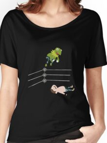 Kermit The Frogsplash Women's Relaxed Fit T-Shirt