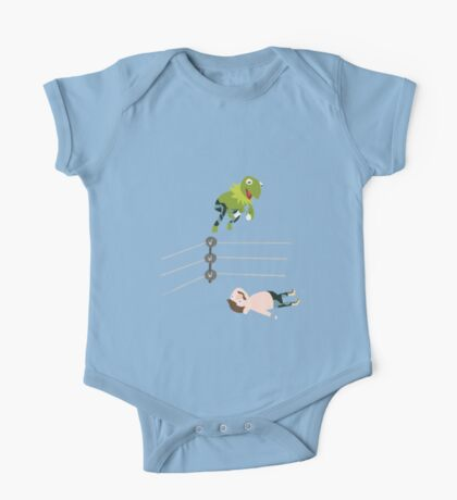 Kermit The Frogsplash One Piece - Short Sleeve