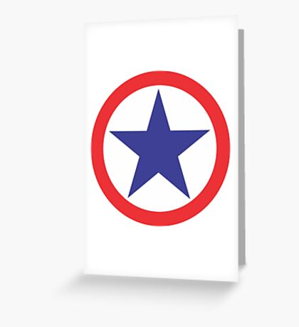 USA star Greeting Card