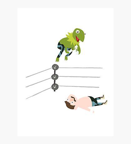 Kermit The Frogsplash Photographic Print