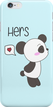 """His & Hers"" Panda (Couple Case) Boy Version [Color] by charsheee"