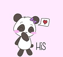 """His & Hers"" Panda (Couple Case) Girl Version [Color] by charsheee"