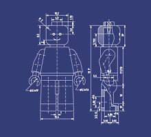 Minifigure Blueprint Unisex T-Shirt
