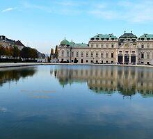 Beldevere Vienna Austria by Yen-Yen