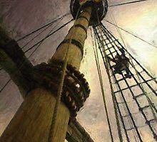Up the Mast by Atticstudios