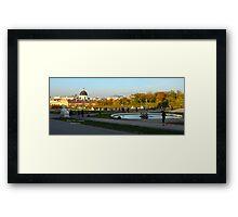 Beldevere Park Vienna Austria Framed Print