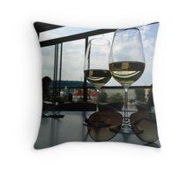 Cheers Wine-chills:) Throw Pillow