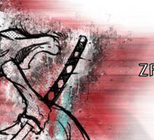 Zamurai - Original #1 (red) Sticker